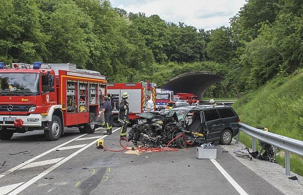 Unfall Tiefenbach