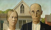 Grant Wood, American Gothic, 1930. - Foto: Art Institute of Chicago